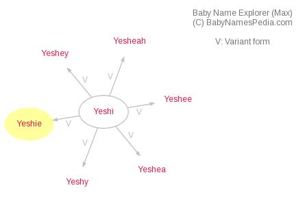 Baby Name Explorer for Yeshie