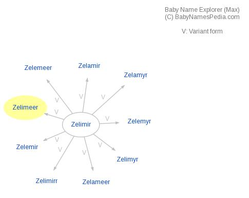 Baby Name Explorer for Zelimeer