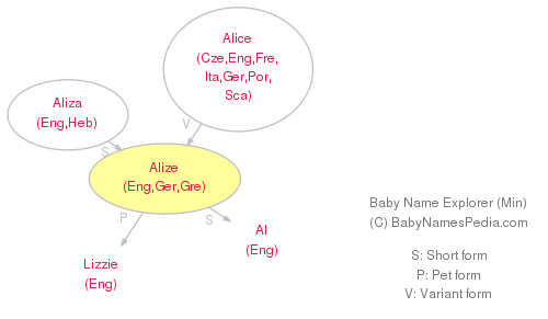 Baby Name Explorer for Alize