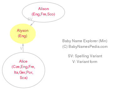 Baby Name Explorer for Alyson