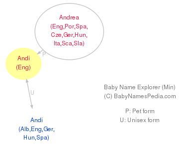Baby Name Explorer for Andi