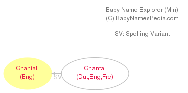 Baby Name Explorer for Chantall