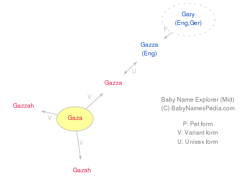 Baby Name Explorer for Gaza