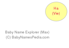 Baby Name Explorer for Ha