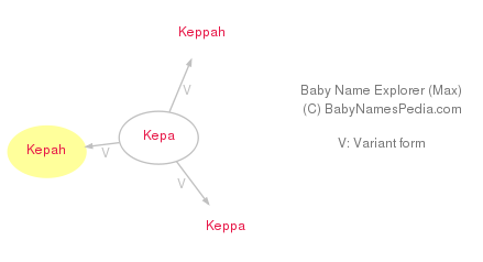 Baby Name Explorer for Kepah