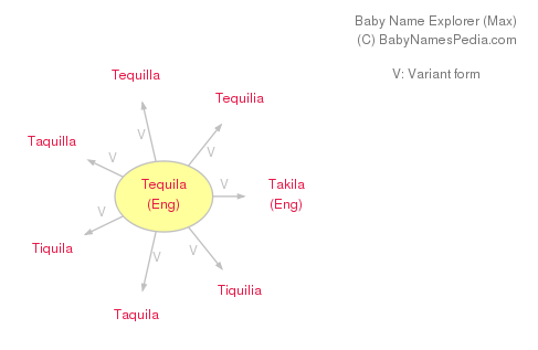 Baby Name Explorer for Tequila