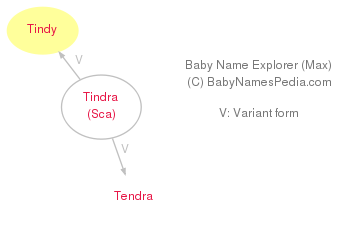 Baby Name Explorer for Tindy