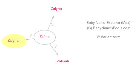 Baby Name Explorer for Zafynah