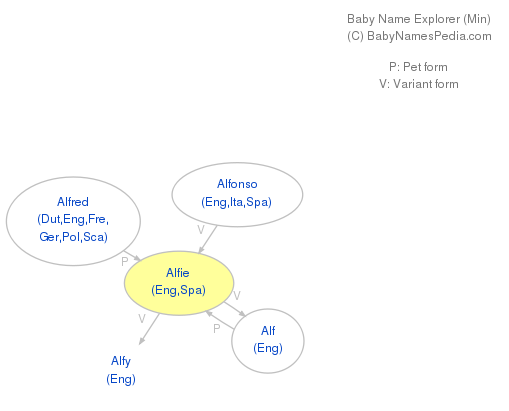 Baby Name Explorer for Alfie