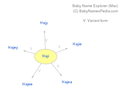 Baby Name Explorer for Haji