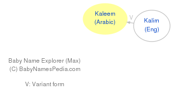 Baby Name Explorer for Kaleem