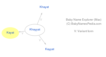 Baby Name Explorer for Kayat