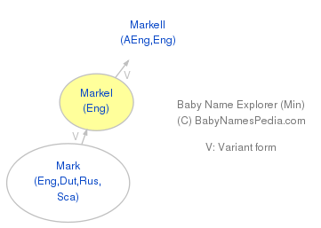 Baby Name Explorer for Markel