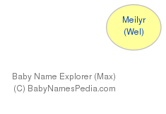 Baby Name Explorer for Meilyr