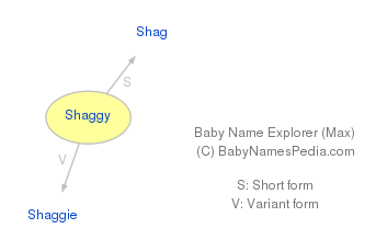 Baby Name Explorer for Shaggy