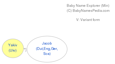 Baby Name Explorer for Yakiv