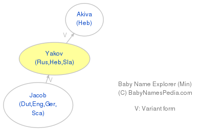 Baby Name Explorer for Yakov