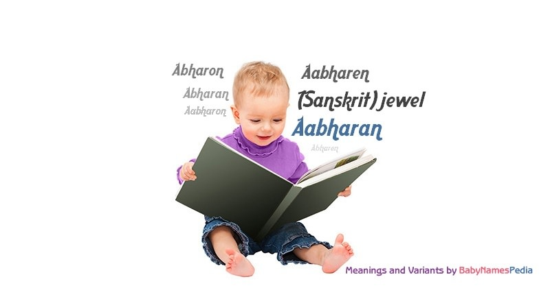 Meaning of the name Aabharan