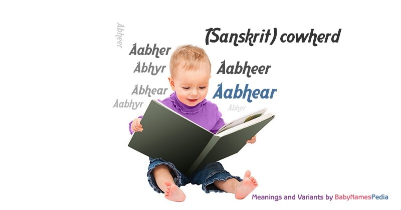 Meaning of the name Aabhear