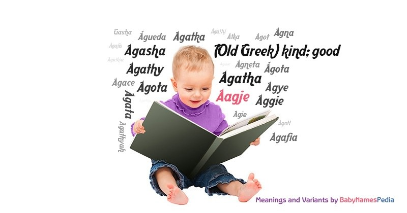 Meaning of the name Aagje