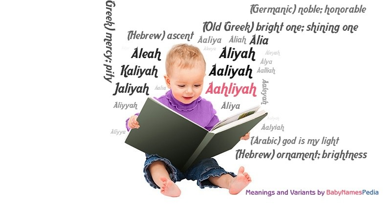 Meaning of the name Aahliyah