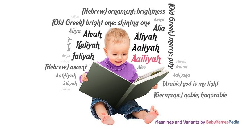Meaning of the name Aailiyah