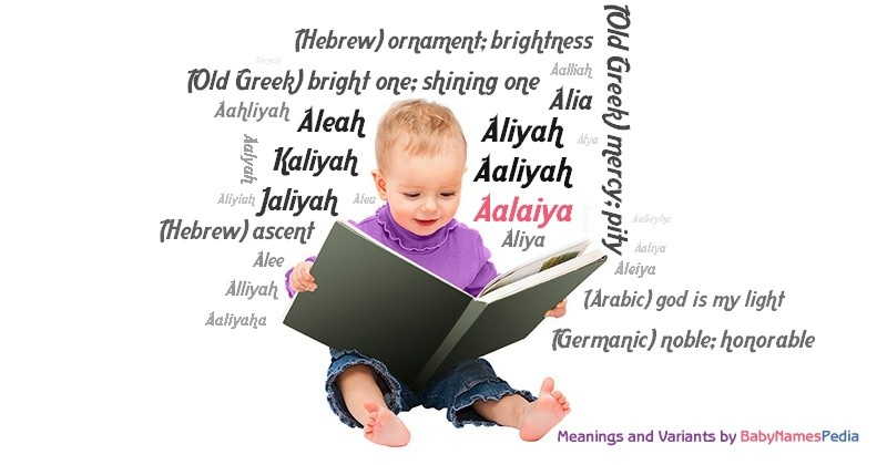 Meaning of the name Aalaiya