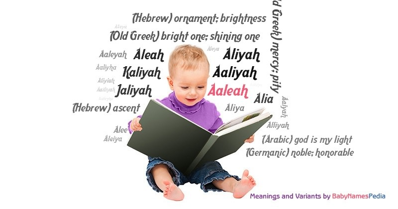 Meaning of the name Aaleah