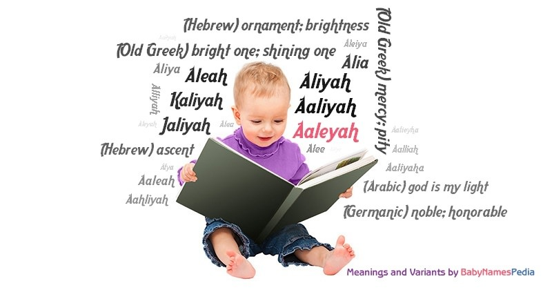 Meaning of the name Aaleyah