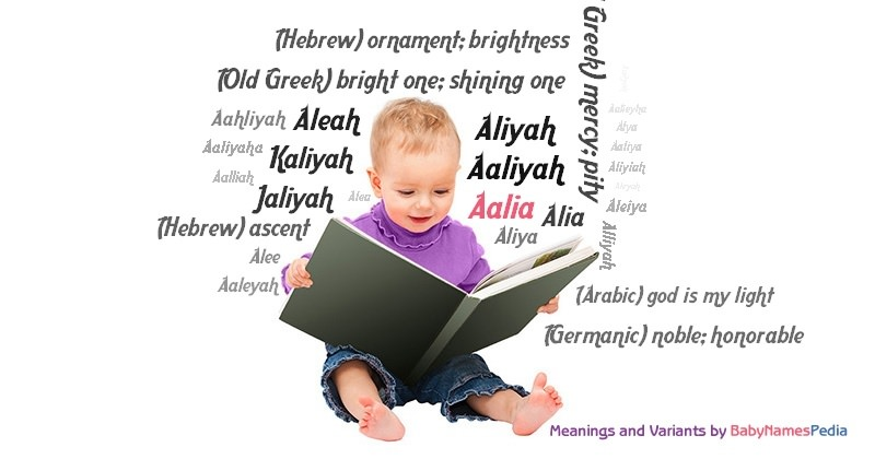 Meaning of the name Aalia