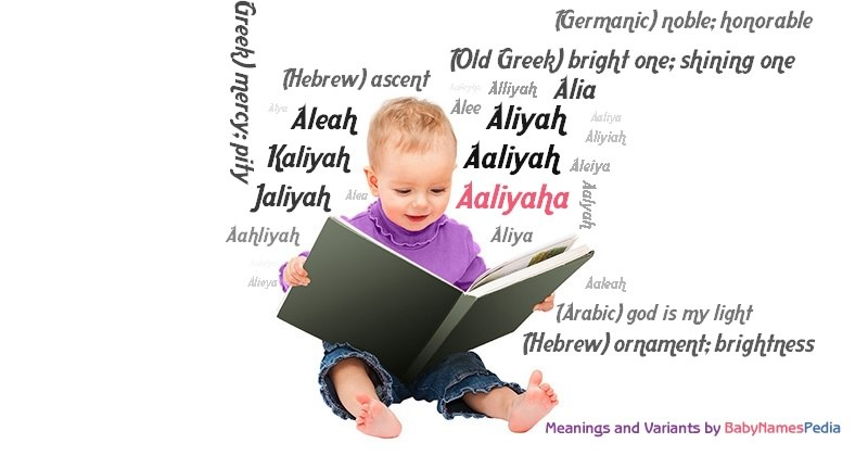 Meaning of the name Aaliyaha
