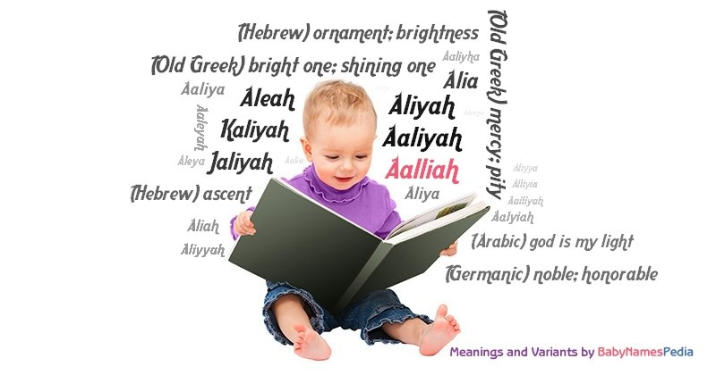 Meaning of the name Aalliah