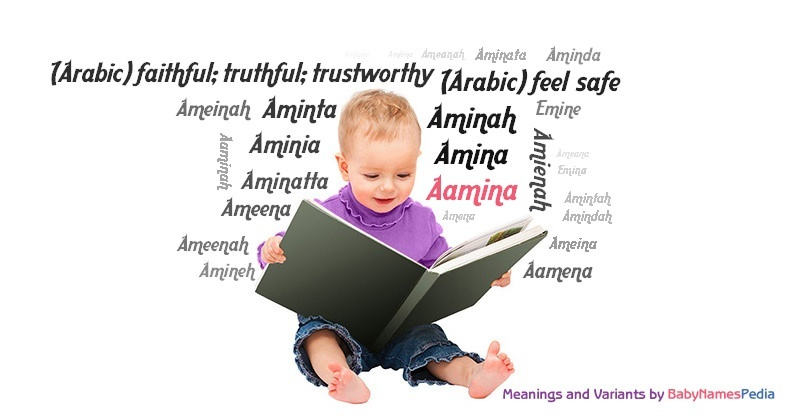 Meaning of the name Aamina