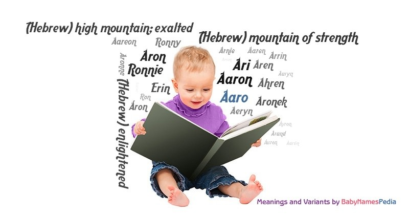 Meaning of the name Aaro