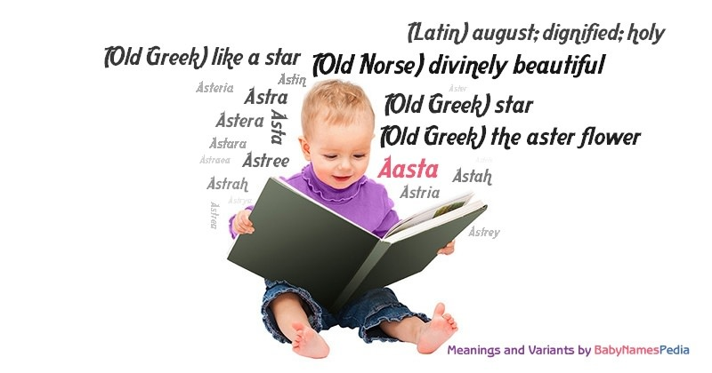 Meaning of the name Aasta