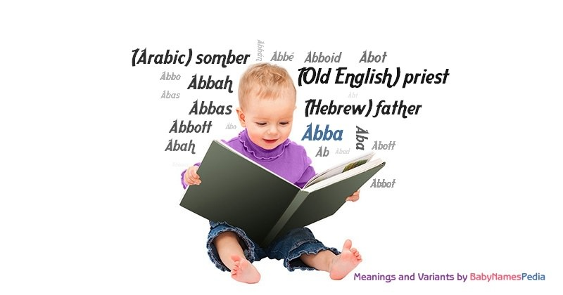 Meaning of the name Abba