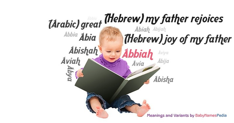 Meaning of the name Abbiah