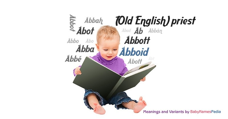 Meaning of the name Abboid