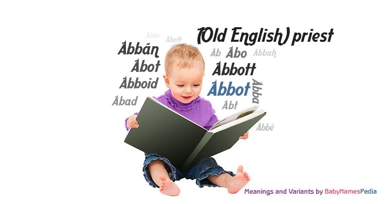 Meaning of the name Abbot