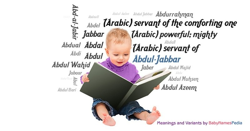 Meaning of the name Abdul-Jabbar