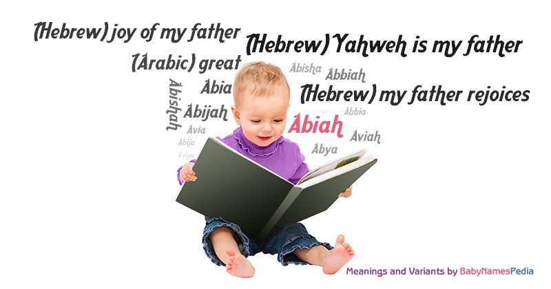 Meaning of the name Abiah