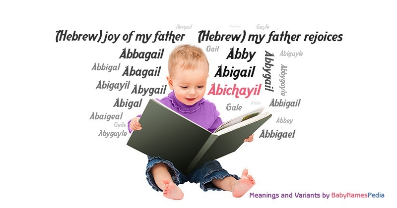 Meaning of the name Abichayil
