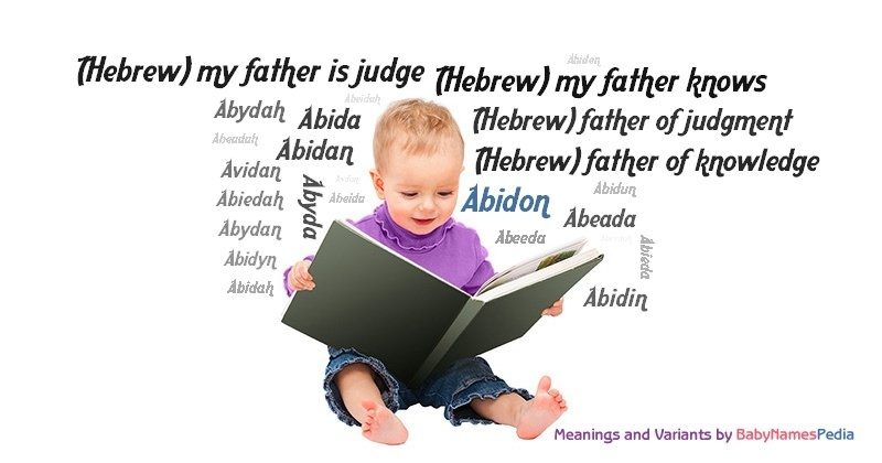 Meaning of the name Abidon