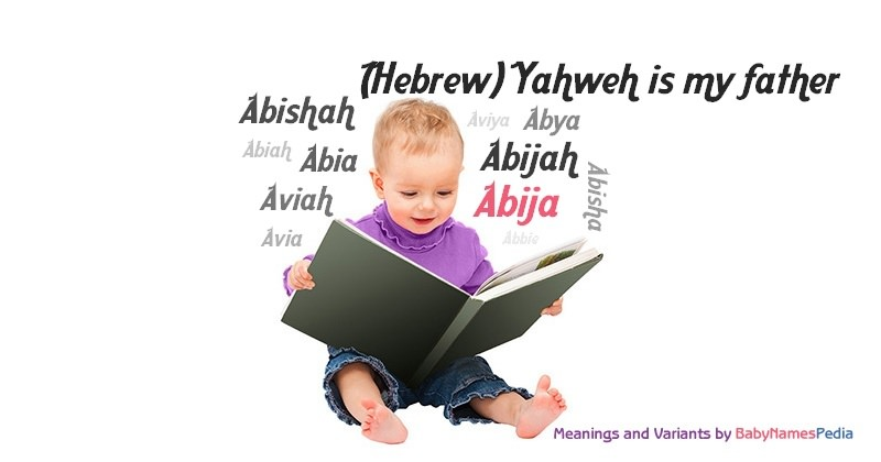 Meaning of the name Abija