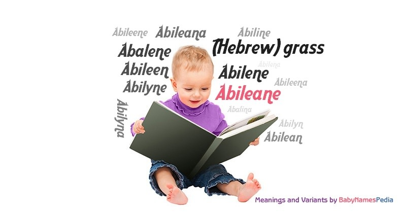 Meaning of the name Abileane