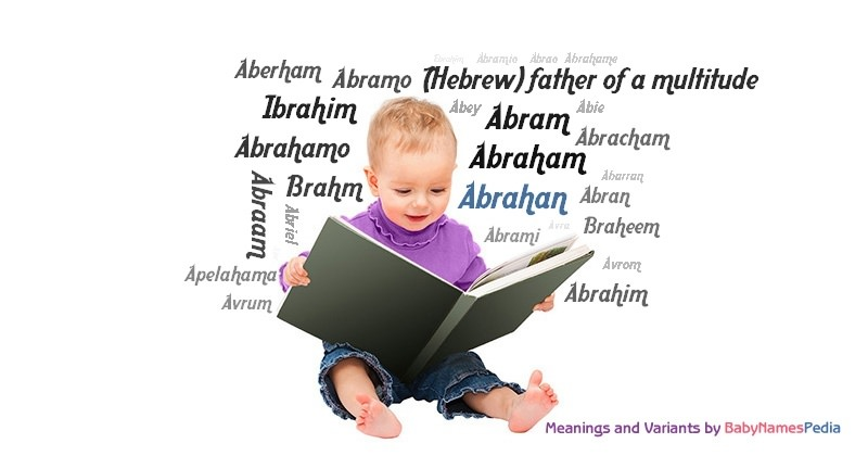Meaning of the name Abrahan