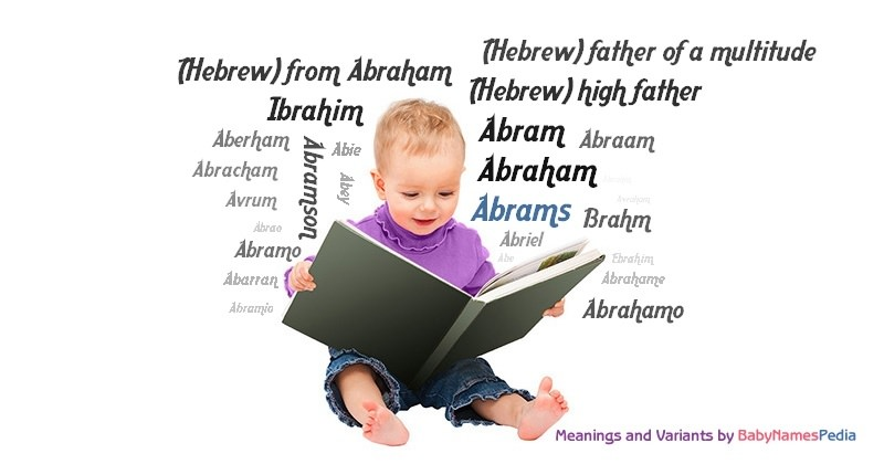 Meaning of the name Abrams