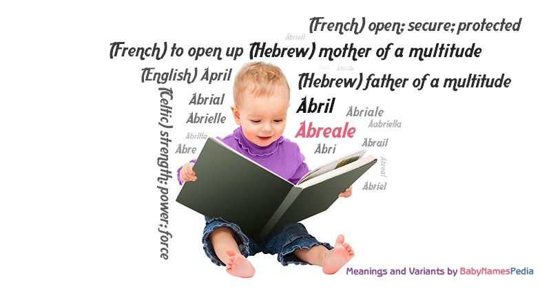 Meaning of the name Abreale