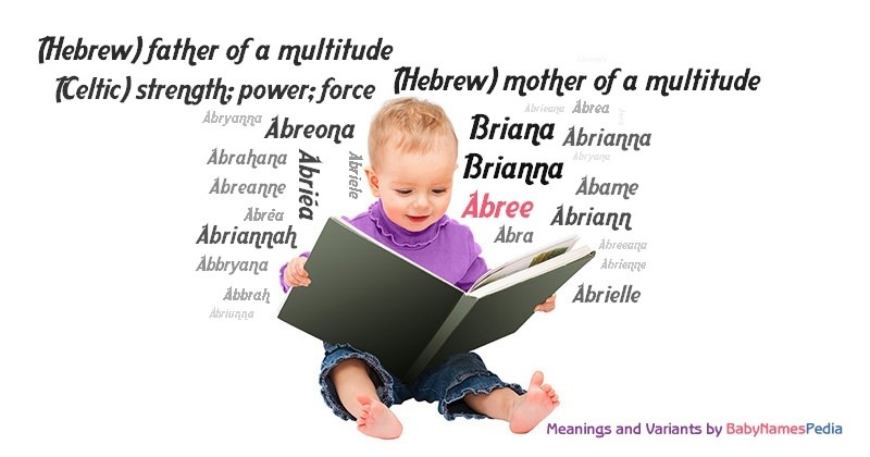 Meaning of the name Abree