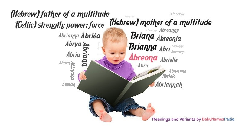 Meaning of the name Abreona